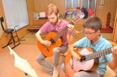 クラシックギター教室もあります